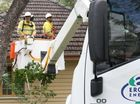 Toowoomba Ergon staff step up to storm SOS call