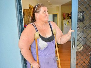 Break-in shatters widowed woman's haven