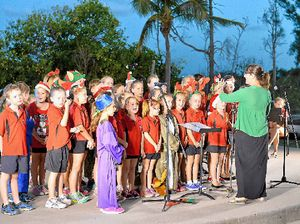 Families make most of carols night magic