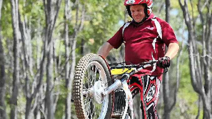 HONOUR: Frank van Heerden is one of many winners in the CQ Moto Trials Club end-of-year awards.