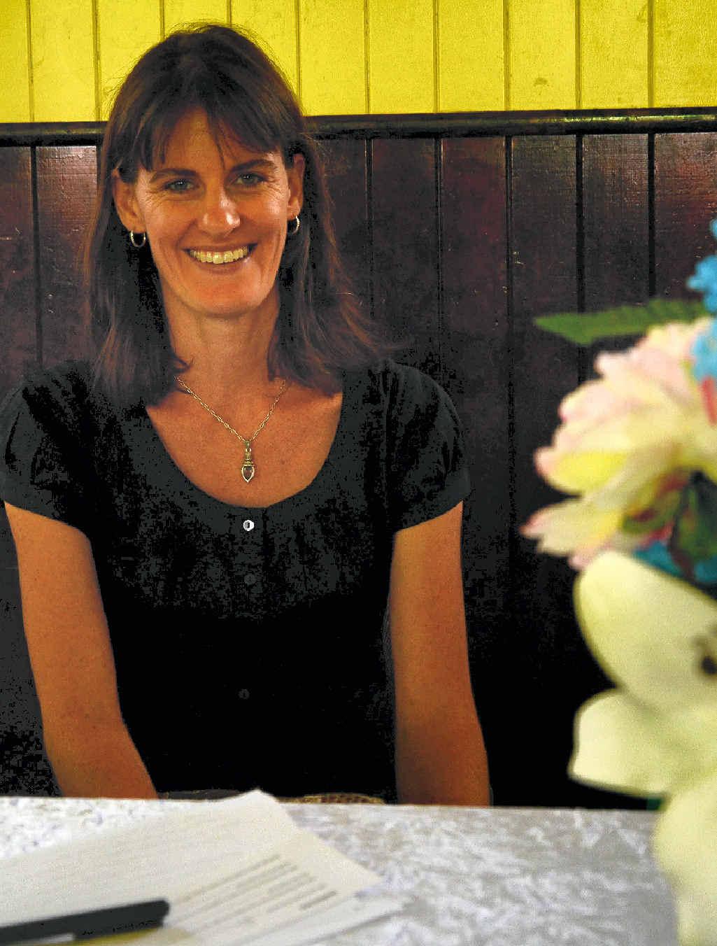 A LONG ROAD: Mother of six boys Jenny Thornton said motherhood is a joy.