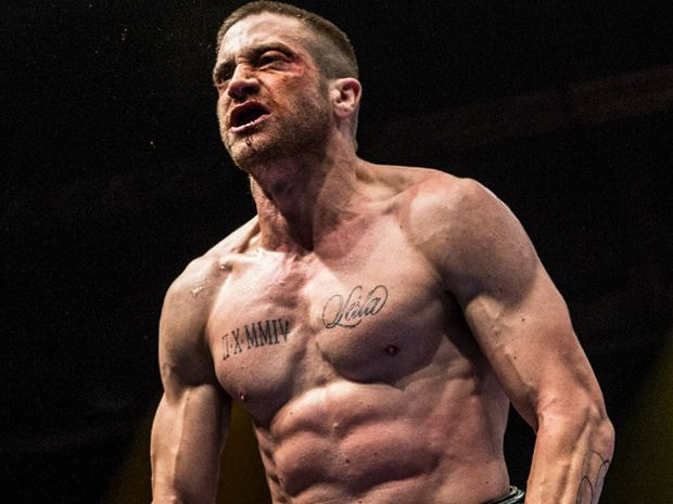 Jake Gyllenhaal in the movie Southpaw.