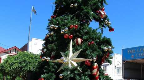 Police are investigating damage to a Christmas tree in Stanthorpe's CBD.