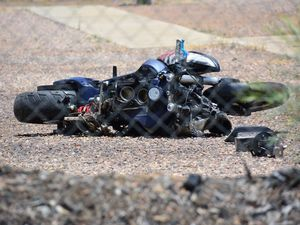 Man escapes jail after nearly killing motorbike rider