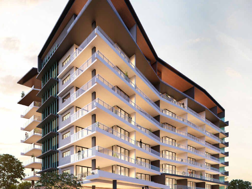 INSET: Developer Andrew BeaumontRIGHT: An artist's impression of the Gallery Apartments.