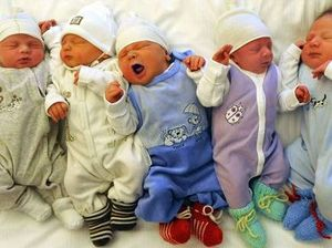 TRIPLE TROUBLE? Grandmother gives birth to triplets