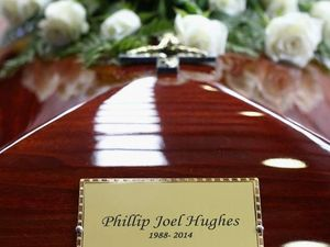 Sad farewell to little star Phillip Hughes