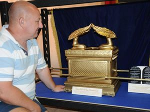 Ark of the Covenant reproduction in Toowoomba