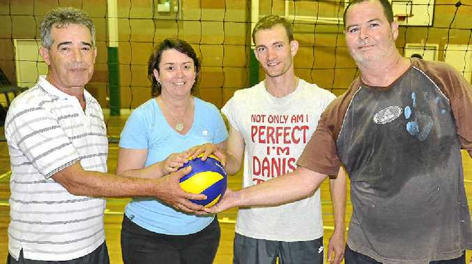 The Deadwood team of Michel Kairouz, Marianne Clayton, Lasse Christensen and Brett Singh will play in a grand final in Warwick volleyball on Monday night.