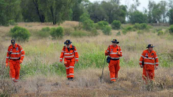 SEARCH: SES and Emerald police conducted the search.