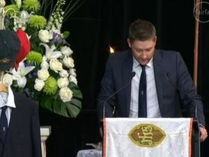 'Rest in peace my little brother. See you out in the middle'