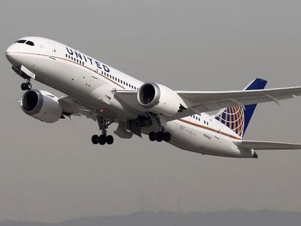 The woman was believed to be travelling alone on a transatlantic United Airlines flight from Heathrow