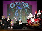 The Cast of Nunsense, the Musical. Vivienne Ellis (center) plays Sister Hubert. Photo: Cade Mooney / Sunshine Coast Daily
