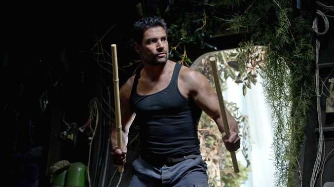 Manu Bennett stars as Slade Wilson in the TV series Arrow.