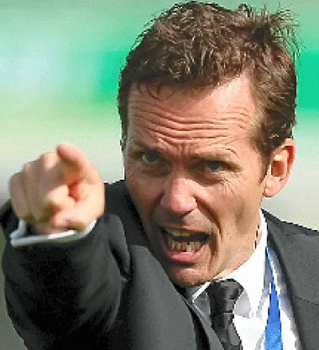 SACKED: Mike Mulvey.
