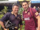 WIN TV cameraman proves covering the news a tough job