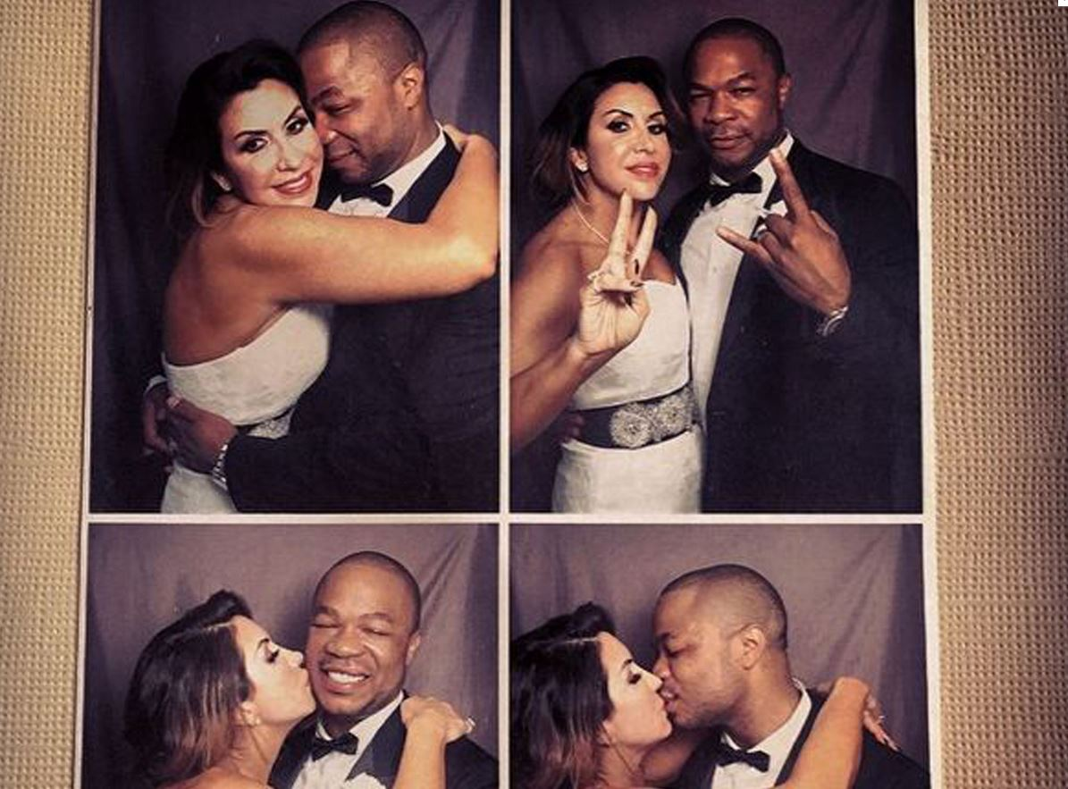 Xzibit with new wife Krista Joiner