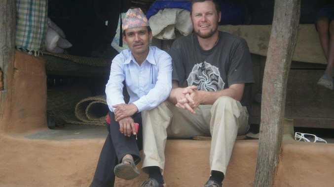 Bhupal Thapa and Hugh O'Toole