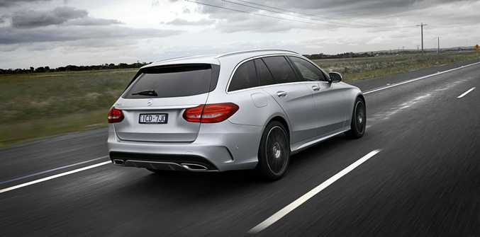 The Mercedes-Benz C-Class C250 Estate.