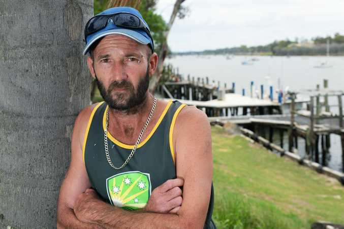NOT FINE: Bundaberg fisherman Dwane Austerberry was recently fined for catching a groper and is not impressed by the way he has been treated by the Department of Agriculture, Fisheries and Forestry. Photo: Max Fleet / NewsMail