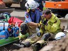 Buried man presented 'a huge challenge' for rescue crews