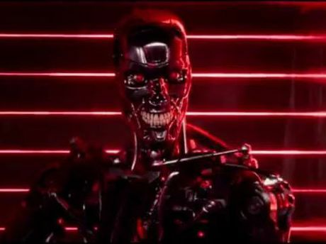 A human-hunting terminator. Not so different from some high level executives.