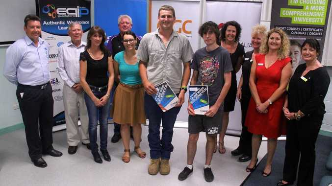 Fourteen Tannum Sands State High School students have graduated from a process plant operations course through CQUniversity's VET in Schools, in partnership with EQIP Gladstone.