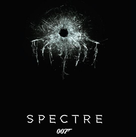 The poster for the latest James Bond film: Spectre