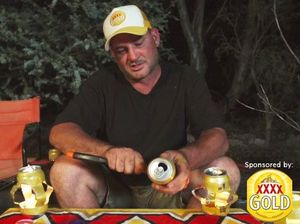 Build a mozzie candle holder from a beer can