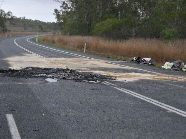 The lives of two were claimed early this morning on the Bruce Hwy.