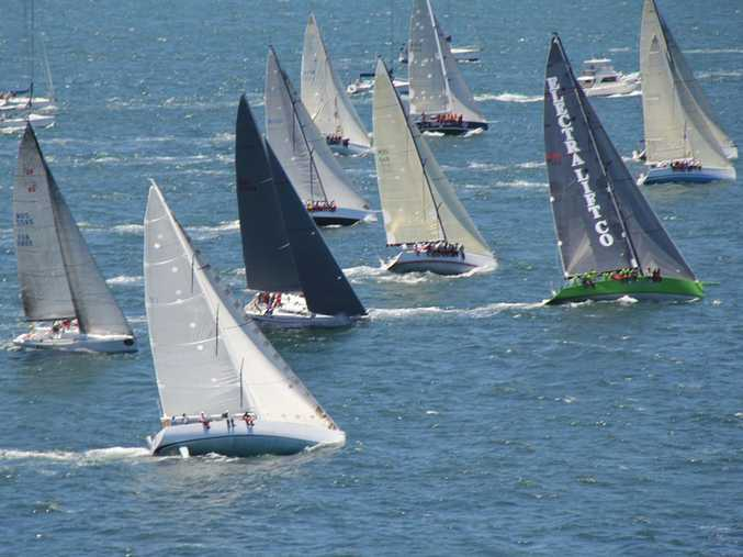 The fleet for this year's Pittwater to Coffs Harbour yacht race has 28 vessels in it.