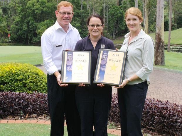Bonville Golf Resort's latest industry awards will create plenty of mileage for Coffs Coast tourism.