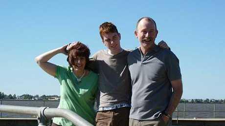 Allan, Bronwyn and James Pascoe