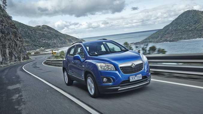 The Holden Trax LTZ.