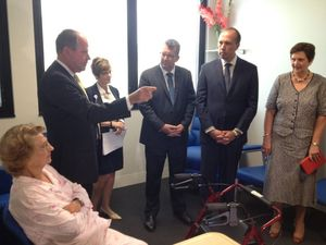 Federal Health Minister officially opens St Stephen's