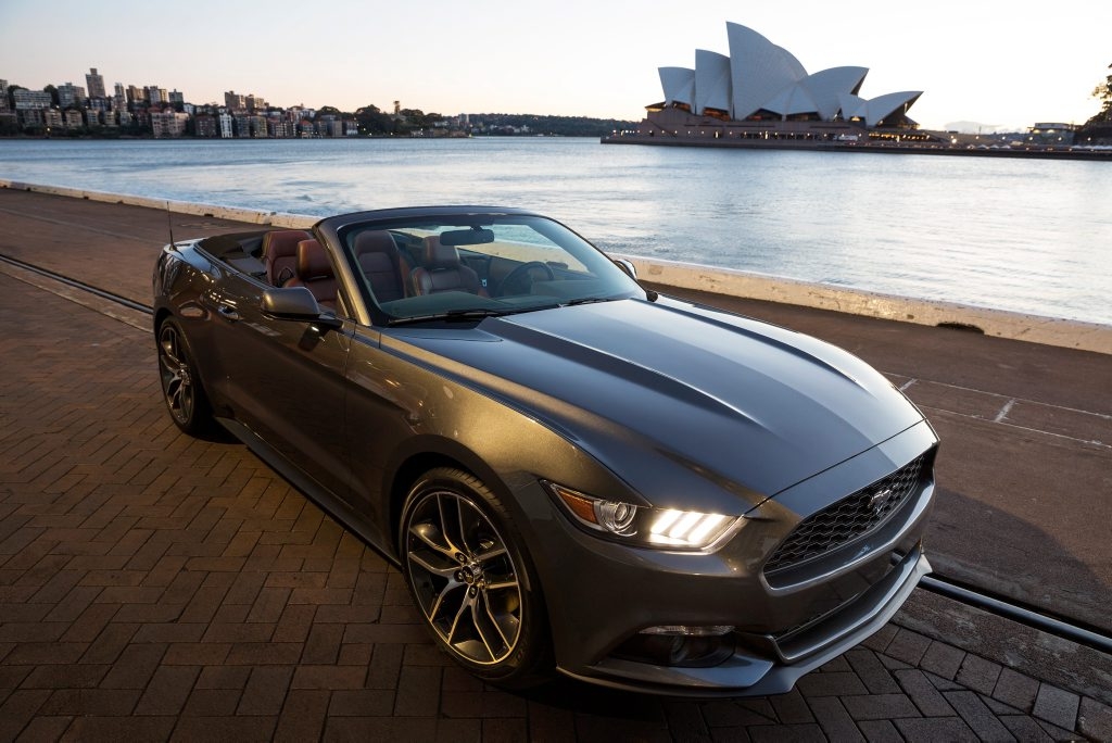 Over 2000 orders have already been placed for the Australia-bound Ford Mustang months before its late 2015 arrival