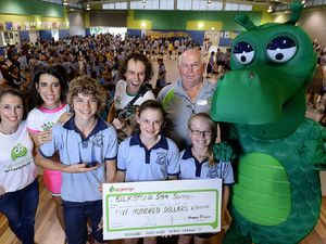 Eat Smart, B Active award for Silkstone State School