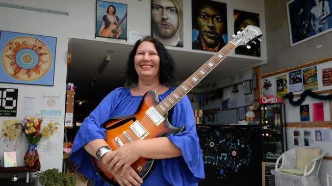 Chantal Waters at the studio Tweed Creative. Photo: John Gass / Tweed Daily News
