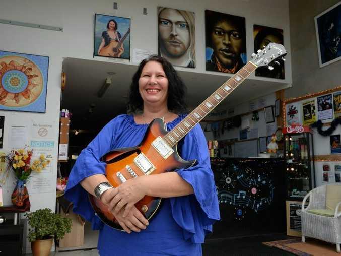 Chantal Waters at the studio Tweed Creative. Photo: John Gass / Tweed Daily News