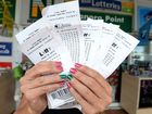 Lotto tickets at Banora p[oint Newsagency. Photo: John Gass / Tweed Daily News