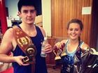 NO ONE could be more proud of their children than Woodburn Amateur Boxing Club coach Mick White.