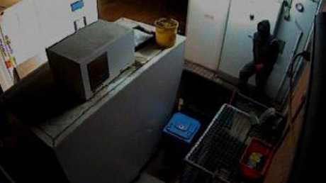BREAK IN: Police are searching for suspects involved in a supermarket break in at Crows Nest. Photo Contributed