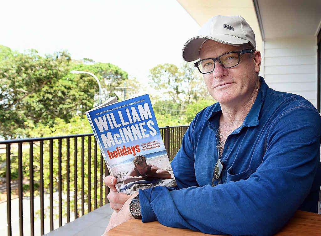 Author William McInnes will visit Gladstone next month.