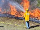 PLEA TO POLITICIANS: Rural firefighters have drawn up a policy list. PHOTO: GREG MILLER