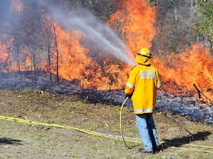 Firies put the heat on state politicians