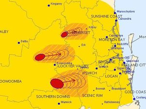 More storm warnings for the Lockyer and Brisbane Valleys
