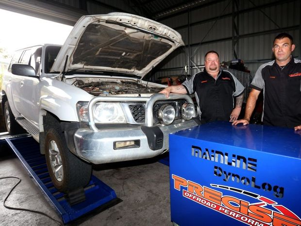 Michael Love and Mark Costin are worried they will be forced to close after receiving noise complaints. Photo Nicola Brander / Caboolture News