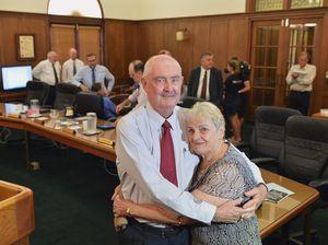 Mayor Ron Dyne's sad adieu to council career