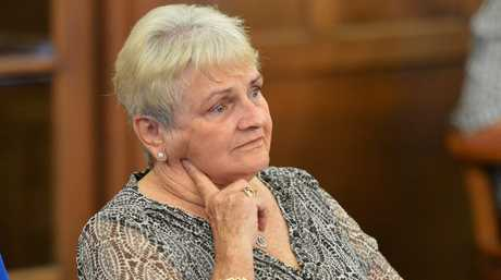 Gympie Regional Council Mayor, Ron Dyne, announces his resignation due to ailing health. Mayors wife, Dulcie Dyne. Photo: Greg Miller / Gympie Times