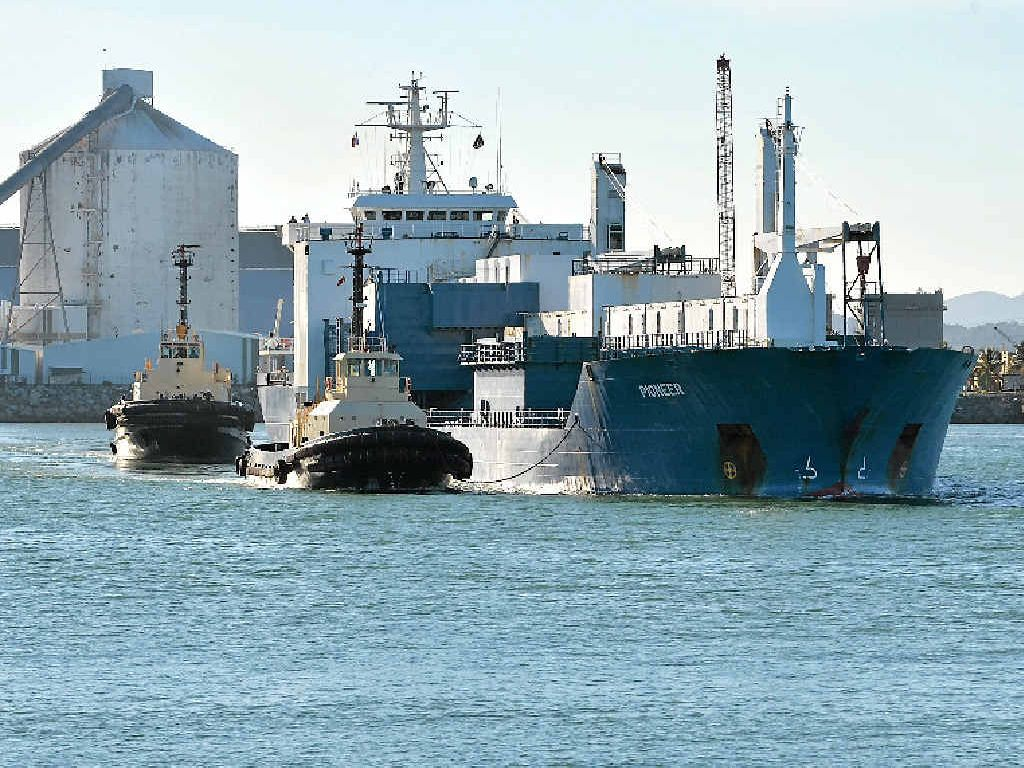 Mackay is a major port and operator North Queensland Bulk Ports Corporation intends to expand its facilities, with a view to making it a key regional hub.